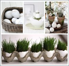 Pasqua Easy-Chic - My best decoration list Romantic Home Decor, Easy Home Decor, Easter Crafts For Kids, Diy For Kids, Easter Flower Arrangements, Easter Table Decorations, Diy Ostern, Easter Holidays, Easter Party