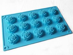 Rose Flower Cake Mold Soap Mold Flexible Silicone Mold Candy molds Fimo Resin Crafts food mould C Soap Molds, Resin Molds, Silicone Molds, Soap Cake, Cake Mold, Food Mold, Traditional Cakes, Fondant Molds, Candle Molds