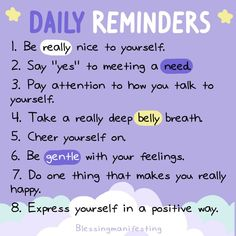 Daily reminders for self love and success Be Gentle With Yourself, Be Kind To Yourself, Positive Vibes, Positive Quotes, Motivacional Quotes, Care Quotes, Self Reminder, Daily Reminder, Reminder Quotes