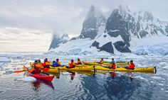 Kayaking in Antarcti