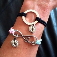 """The HALO BRACELET  To be worn by anyone with an Angel in Heaven. The open circle upon your wrist has no beginning and no end, symbolizing the infinite love you share with your Angel.  HEAVENSBOOK ANGELS Keep your angels close and their memory alive"""""""