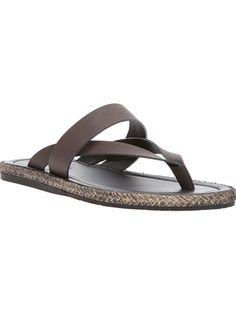 GIORGIO ARMANI Layered Thong Sandal