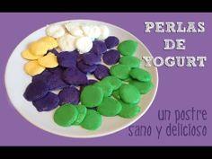 Postre de yogurt helado | Perlas heladas
