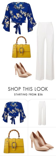 """A Summers Day"" by ofwfasion on Polyvore featuring River Island, Roland Mouret, Gucci and Alexander McQueen"
