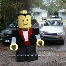 Tutorial for a Lego Halloween costume