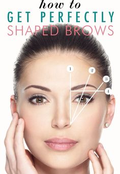 How To Get Perfectly Shaped Brows