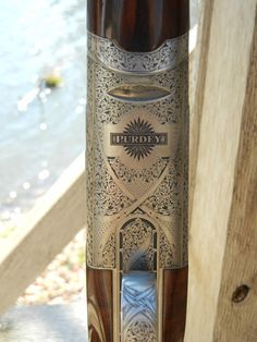A Purdey from the Garden & Gun Club Shoot at Providence Hill Plantation in Jackson, Mississippi