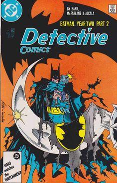Detective Comics #575. Batman Year Two Pt.2 Todd McFarlane Pencils - Cover Art…