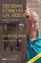 decidme como es un arbol: memoria de la prision y la vida-marcos ana-9788489367401