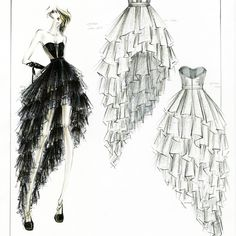Fashion Design Sketches | Fashion design sketches | 108 : Image Gallery 1474 | Topular News