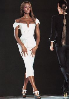 Miami Collection | Gianni Versace Lookbook NR. 24 | RTW S/S 1993 — with Naomi Campbell