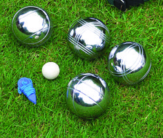 Boules Set-King Fisher Classic Garden Games.