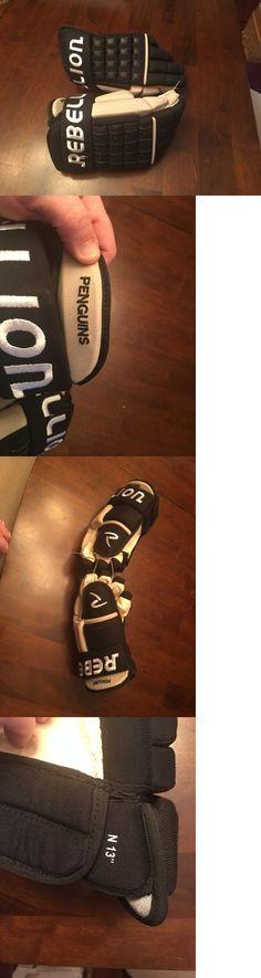 Gloves 20853: Rebellion Pittsburgh Penguins Hockey Gloves New -> BUY IT NOW ONLY: $54.99 on eBay!