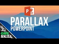 How to Create Parallax Effect in PowerPoint - YouTube