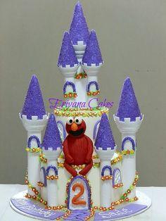 Castle Cake 5