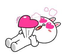 With Tenor, maker of GIF Keyboard, add popular Love animated GIFs to your conversations. Share the best GIFs now >>> Love You Gif, Cute Love Gif, Gif Bonito, Cony Brown, Emoji Symbols, Cute Love Cartoons, Bunny And Bear, Line Friends, Cute Teddy Bears