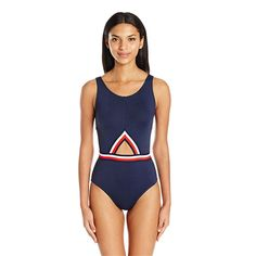 Cutout One Piece - Best Swimsuits for Spring Break - Southernliving. BUY IT: Tommy Hilfiger Women's Signature Stripe Cut-Out High Neck One Piece Swimsuit with Low Back, $92; amazon.com  Getting full coverage doesn't mean you have to wear the same swimsuit your grandmother would. One pieces are back and better than ever, and this alluring silhouette is one of our favorites.