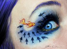 Be different - 16 Spectacular Eye Art Arrangements