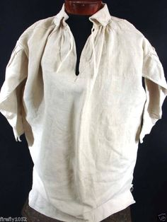 All The Pretty Dresses: 18th Century Men's Shirt