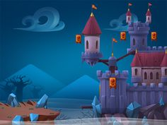 Social and Mobile games on Behance