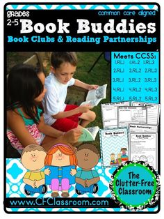 Tips for managing book buddies {using book clubs & reading partnerships}!