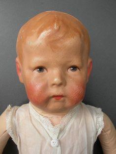 Antike alte Käthe Kathe Kruse Puppe Doll I (1), breite Hüften, ca 43cm in Antiquitäten & Kunst, Antikspielzeug, Puppen & Zubehör | eBay!