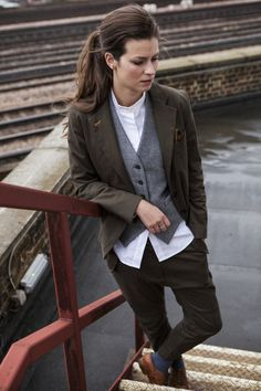 Eastie Empire — HERRINGBONE & CHECK WAISTCOAT
