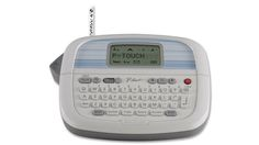 5 best label makers. I got this for Christmas (2015) and love it! The only complaint I have is that it only does 2 lines. 3 lines would be nice for address labels, but I figured out how to work around that. ;)