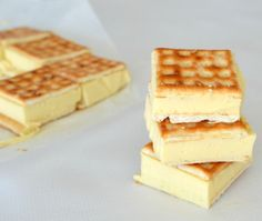 No bake Lattice Slice - another post suggested pre-baking 2 sheets of puff pastry instead of the lattice biscuits which aren't common in Canada.