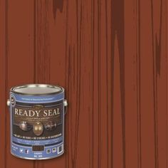 READY SEAL 1 gal. Cherry Ultimate Interior Wood Stain and Sealer-305 - The Home Depot