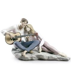 #Lladro 09198 OUR SONG http://www.lladrofromspain.com/09198oursong.html