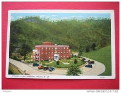 Stevens Clinic, Welch, WV. My life began here--in another red brick building.