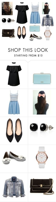 """Untitled #3698"" by loopyloser ❤ liked on Polyvore featuring Forever New, Belk & Co., Unützer, Marc by Marc Jacobs, maurices and Salvatore Ferragamo"