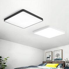 24W Square LED Ceiling Down White Light Panel Wall Bathroom Lamp Fixture 40*40cm | BidderFace