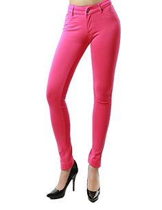 Classic Fashion Skinny Jean Collection for Women in Solid Colors (LARGE, FUSCHIA-SPC99) Fandsway http://www.amazon.com/dp/B00PE8Q47Q/ref=cm_sw_r_pi_dp_T1fJub1MGTMAE