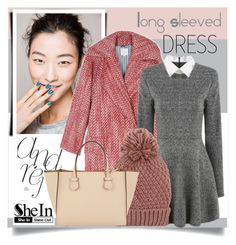 """""""Long Sleeved Dress"""" by rosalie45 ❤ liked on Polyvore featuring moda, Stella Jean, Accessorize ve Moreau"""