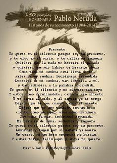 Presente/ Poema incluido en la antología 150 poesías en Homenaje a Pablo Neruda. Editorial ArtGerust/ 2014 m/blog/antologia-150-poesias-homenaje-pablo-neruda