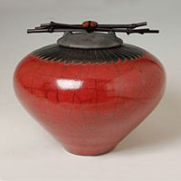 Inspired by Japanese and Native American esthetics, ceramics by John Dodero are characterized by their calm elegance, clean spare lines, and timeless appeal. Specializing in raku pottery and decorative ceramics, including Urns for Ashes (pets & humans), Decor Urns, Cachepots, Volcano Seed Pots, Southwest Style Pots, Decorative Platters, and Stoneware Ikebana. Please visit John's listing at SOAR for web links and contact info: www.soartists.com/visualartists/alpha/vd1.html#johndodero