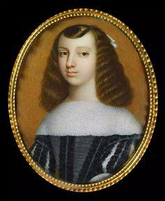 Catherine de Bragance, infante de Portugal, reine d'Angleterre, jeune fille, par Joseph Lee, d'après Dirk Stoop