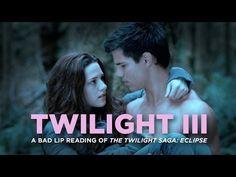 "▶ ""TWILIGHT III"" — A Bad Lip Reading of The Twilight Saga: ECLIPSE - YouTube"