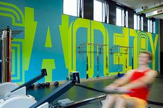 GRAPHIC AMBIENT » Blog Archive » Adidas Gym, Germany