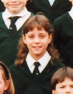 Kate Middleton  young photo