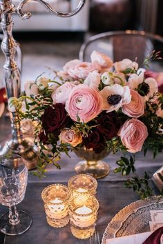 Decadent floral.   Regal Quintessence.   White Lilac Inc.   Event Design for Weddings, Fashion, Social and Corporate functions.