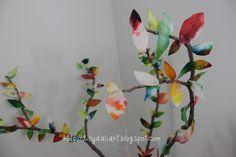 Dilly-Dali Art: Coffee Filter Tree