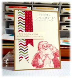 Bada-Bing! Paper-Crafting!: Christmas in....August?