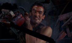 Evil Dead Ash Chainsaw