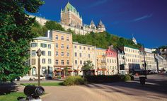 Quebec City and Old Quebec City are beautiful.