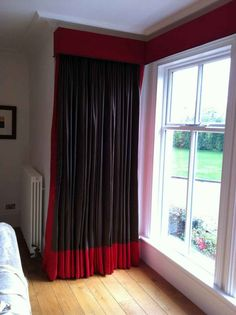 Living room curtains idea black grey silver   For the Home ...