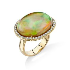 Love Ethiopian Opal! My favorite stone to cut! #opalobsession #oneofakindjewelry #pamelahuizenga #by_couture #cjdgjewelers