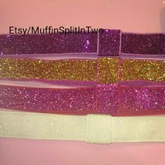 Coordinate many outfits with one headband since it's interchangeable. Add a pink, purple,white or any color bow to this one headband. Pink Purple, Hair Bows, Headbands, Etsy Seller, Arts And Crafts, Creative, How To Make, Color, Outfits